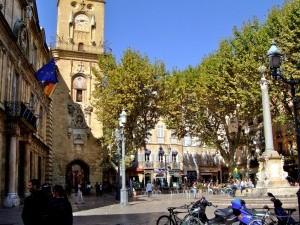 studio place de la mairie d'Aix en Provence